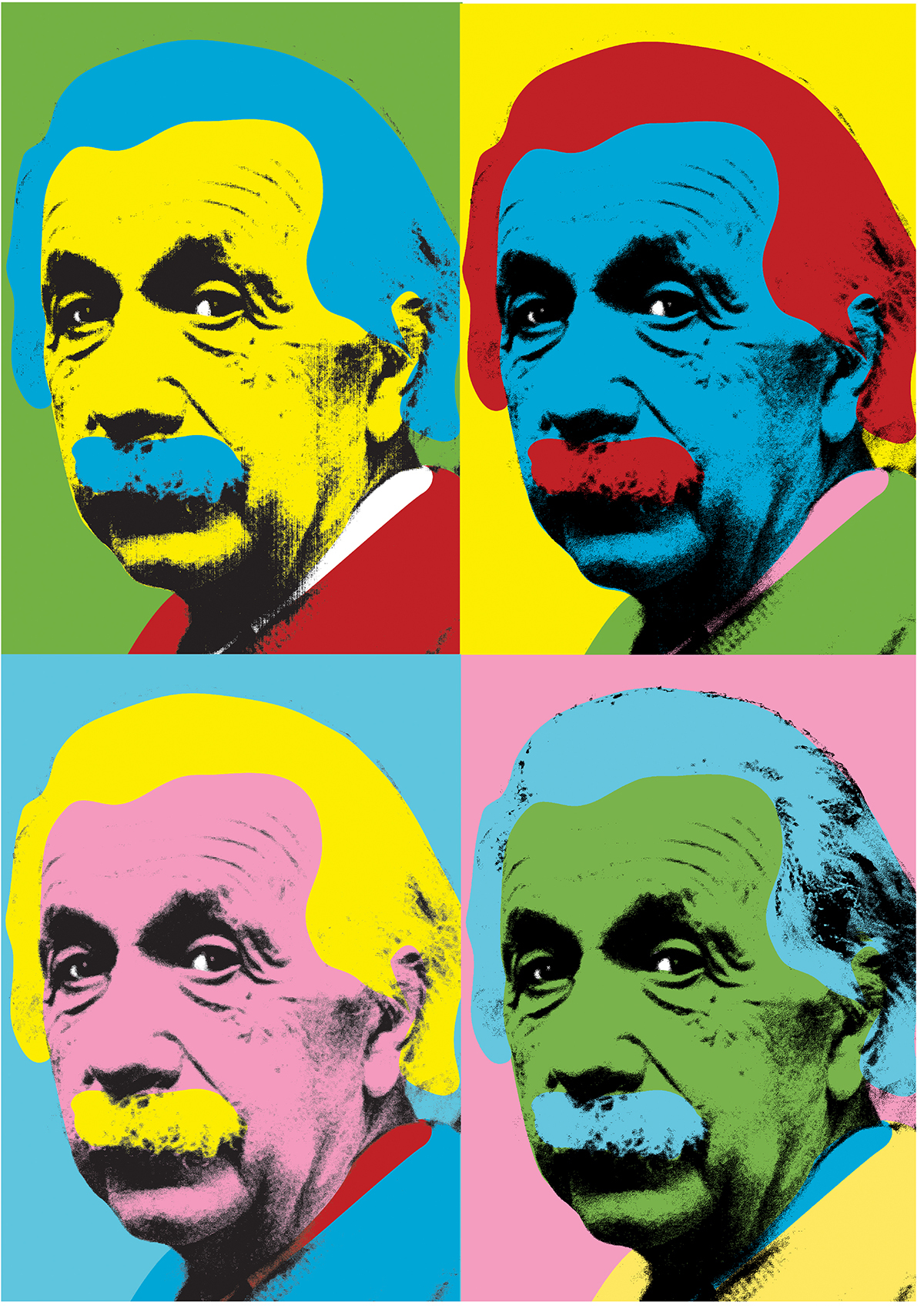 Einstein pop art
